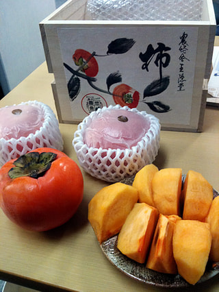 おいしい柿のあたり年